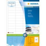 HERMA Universaletikett PREMIUM weiß, 48,3 x 16,9 mm