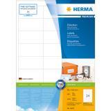 HERMA Universaletikett PREMIUM weiß, 66 x 33,8 mm, 2.400 St.