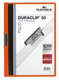 DURABLE Klemmmappe DURACLIP® 30 orange