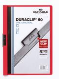 DURABLE Klemmmappe DURACLIP® 60 rot