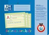 Schreiblernheft DIN A4, Lineatur SL
