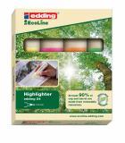edding Textmarker Highlighter 24 EcoLine 4 St./Pck.