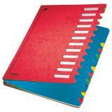 Leitz Ordnungsmappe Deskorganizer Color 12 Fächer rot