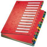 Leitz Ordnungsmappe Deskorganizer Color 24 Fächer rot
