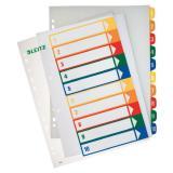 Leitz Zahlenregister 1-10 farbige Taben