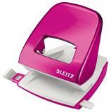 Leitz Locher NeXXt WOW für 30 Blatt pink metallic