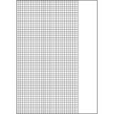 Schulheft DIN A4, Lineatur 26, Recycling-Papier, kariert, 16 Blatt