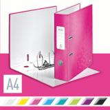 Leitz Ordner 180° WOW 80 mm pink, metallic