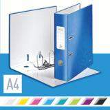 Leitz Ordner 180° WOW 80 mm blau, metallic