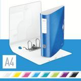 Leitz Ordner Active WOW 82 mm metallic blau, metallic