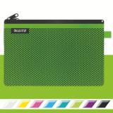 Leitz Reißverschlusstasche WOW Traveller 23 x 15 cm grün