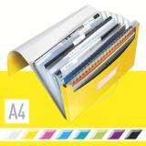 Leitz Projektmappe WOW metallic 6 Fächer gelb