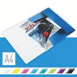 Leitz Eckspanner WOW 23,5 x 32 cm 150 Bl. (80 g/m²) blau, metallic