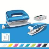 Leitz Schreibtischset NeXXt Series WOW Set mini metallic blau