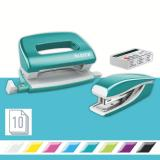 Leitz Schreibtischset NeXXt Series WOW Set mini metallic eisblau