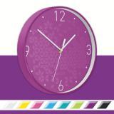 Leitz Wanduhr WOW violett