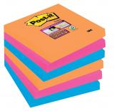 Post-it® Haftnotiz Super Sticky Notes Bangkok Collection 6 Block/Pack. 76 x 76 mm (B x H)
