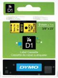 DYMO® Schriftbandkassette D1 9 mm gelb