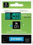 DYMO® Schriftbandkassette D1 19 mm grün