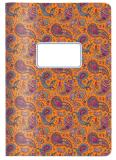 "CEDON Notizheft A5 ""Paisley orange"""