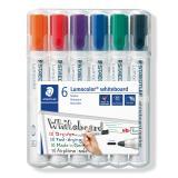 STAEDTLER® Whiteboardmarker Lumocolor® 351 Rundspitze 6 St./Pck.
