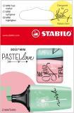 STABILO® Textmarker BOSS® ORIGINAL mini Pastellfarben