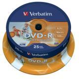 Verbatim DVD-R bedruckbar Spindel Spindel