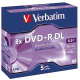 Verbatim DVD+R Double Layer 5 St./Pck.