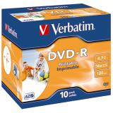 Verbatim DVD-R bedruckbar Jewelcase