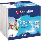 Verbatim CD-R Slimcase printable
