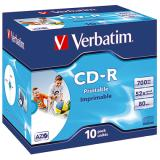 Verbatim CD-R Jewelcase printable