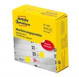 Avery Zweckform Markierungspunkt 10 mm gelb