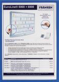 Franken Dokumentenhalter Frame It X-tra! Line DIN A4 5 St./Pck. blau