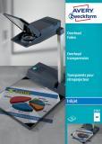 Avery Zweckform OHP Inkjetfolie 50 Folien/Pack.