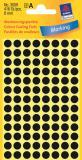 Avery Zweckform Markierungspunkt 8mm schwarz
