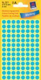 Avery Zweckform Markierungspunkt 8mm blau