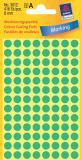 Avery Zweckform Markierungspunkt 8mm, grün