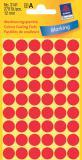 Avery Zweckform Markierungspunkt 12mm rot