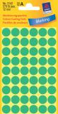 Avery Zweckform Markierungspunkt 12mm grün