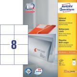Avery Zweckform Universaletikett 800 Etik./Pack. 105 x 74 mm