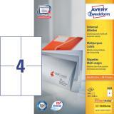 Avery Zweckform Universaletikett 400 Etik./Pack.
