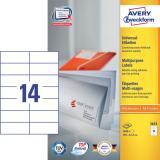 Avery Zweckform Universaletikett 1.400 Etik./Pack.