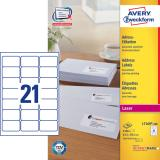 Avery Zweckform Adressetikett 63,5 x 38,1 mm (BxH)