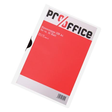 Pro/Office Klemmmappe blau