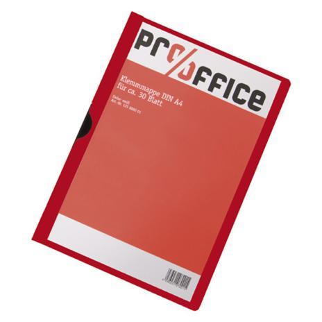 Pro/Office Klemmmappe schwarz