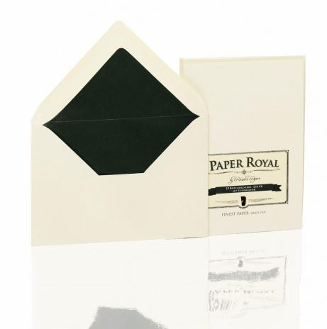 Rössler Briefumschlag Paper Royal - DIN C6 chamois, gelb