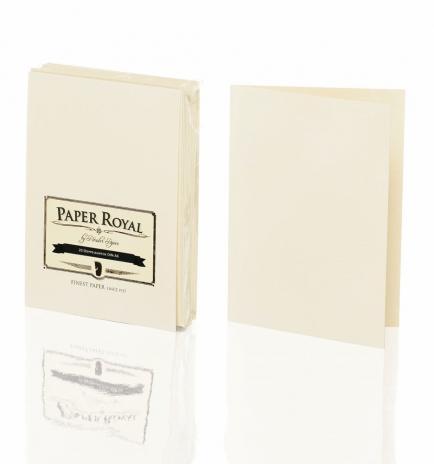 Rössler Karte Paper Royal - A6hd chamois, gelb