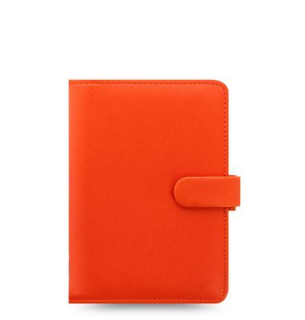 Filofax Organizer Saffiano Personal bright orange