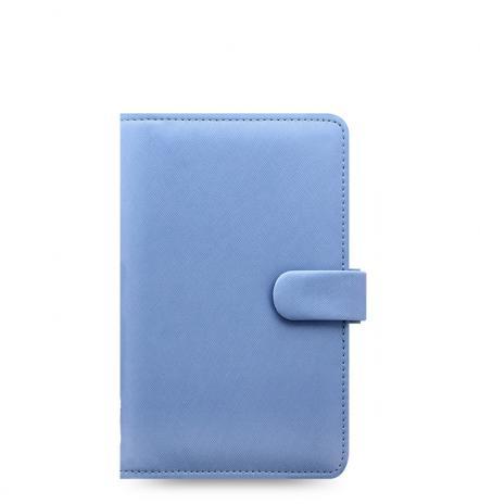 Filofax Organizer Saffiano PERSONAL COMPACT vista blue