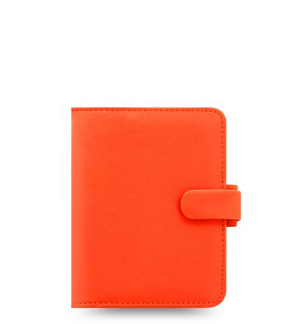 Filofax Organizer Saffiano POCKET bright orange
